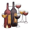 Three Posts Wine Scene Wall Décor