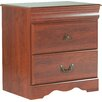 Three Posts Cromwell 2 Drawer Bedside Table