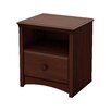 Three Posts Appleridge 1 Drawer Bedside Table