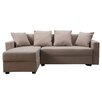 Three Posts Wendbares Ecksofa Morehouse mit Bettfunktion