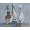 Three Posts Lyndon The Three Amigos Art Print on Canvas