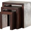 Three Posts Forestport 3 Piece Nesting Table Set