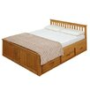 Three Posts Larksville Double Storage Bed Frame