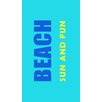 DeroTextil Sun and Fun Beach Towel