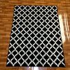 Brady Home Black Area Rug