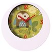 Splendid 24cm Puchacz Wall Clock