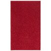 Nance Industries Ourspace Bright Magna Red Area Rug