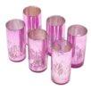 Serene Spaces Living Glass Cylinder Vase (Set of 6)