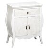 Lily Manor Aubervilliers 1 Drawer 2 Door Accent Cabinet