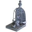Lily Manor Bird Cage Bookend