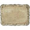Lily Manor Tablett mit geätzten Verzierungen