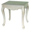 Lily Manor Verveine Wood Decorative Stool