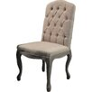 Lily Manor Carennac Solid Wood Upholstered Dining Chair (Set of 2)