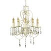 MiniSun Lille 5 Light Crystal Chandelier