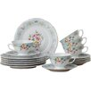 Lily Manor Adem 18-Piece Porcelain Cup Set