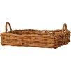 Lily Manor Chouinard Rattan Tray Basket