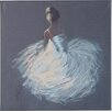 Lily Manor Tutu Art Print Wrapped on Canvas