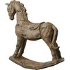 Lily Manor Rocking Horse Statue