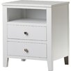 Fairmont Park Kingsbridge 2 Drawer Bedside Table