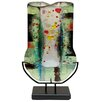 Jasmine Art Glass Fused Art Glass Vase