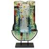 Jasmine Art Glass Fused Glass Vase