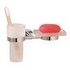 Valsan Porto Tumbler and Soap Dish Holder