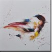 Porthos Home Bird Painting Print on Wrapped Canvas