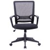 Porthos Home Angelina Adjustable Office Chair with Arms