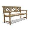 Vifah Renaissance Wood Garden Bench