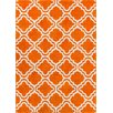 Well Woven StarBright Orange Area Rug