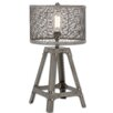 """Urban Designs Expedition Cage Raw 23"""" H Table Lamp"""