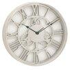 """Urban Designs 18"""" Gear Wheel Aluminum Wall Clock"""
