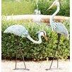 Wind & Weather Heron Steel Statue