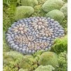 Flowers Decorative Stepping Stone - Wind & Weather Garden Statues and Outdoor Accents