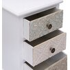 Burkina Home Decor 3 Drawer Bedside Table