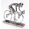 Burkina Home Decor DecorativeCyclist Figurine