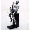 Burkina Home Decor Decorative Musician Figurine