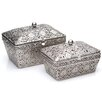 Burkina Home Decor 2 Piece Decorative Box Set