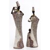 Burkina Home Decor 2 Piece Shape Figurine Set