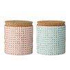 Bloomingville Ceramic Jar (Set of 2)