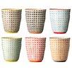 Bloomingville Ceramic Cup (Set of 6)