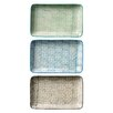 "Bloomingville 7.5"" Ceramic Plate (Set of 3)"