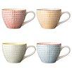 Bloomingville Ceramic Mug (Set of 4)