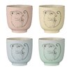 Bloomingville Ceramic Cup (Set of 4)