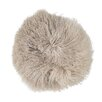 Bloomingville Tibetan Lamb Fur Throw Pillow