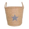 Bloomingville Star Seagrass Basket with Handles