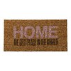 "Bloomingville ""Home…"" Doormat"