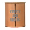 "Bloomingville ""Sweets and Treats"" Stainless Steel Container"