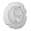 Bloomingville Sleeping Squirrel Cotton Throw Pillow
