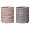 Bloomingville Ceramic Cup (Set of 2)